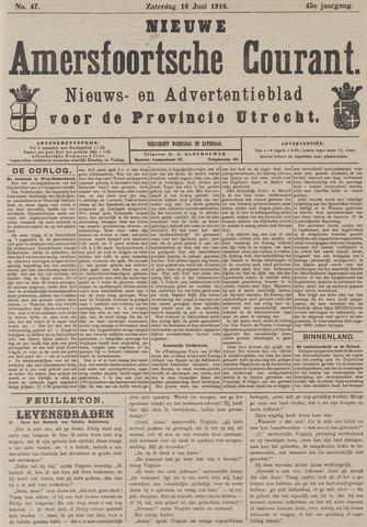 Nieuwe Amersfoortsche Courant 1916-06-10