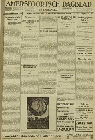 Amersfoortsch Dagblad / De Eemlander 1933-02-23