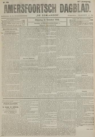Amersfoortsch Dagblad / De Eemlander 1913-10-21