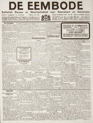 De Eembode 1915-09-03
