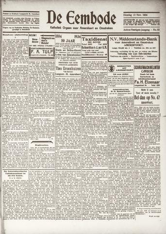 De Eembode 1934-11-13