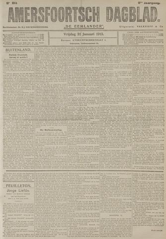 Amersfoortsch Dagblad / De Eemlander 1913-01-31