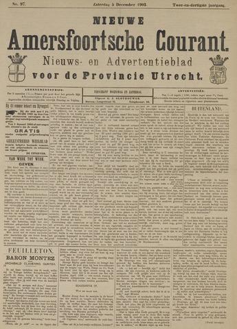 Nieuwe Amersfoortsche Courant 1903-12-05
