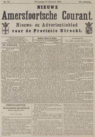 Nieuwe Amersfoortsche Courant 1915-02-17