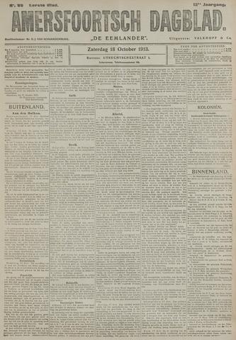 Amersfoortsch Dagblad / De Eemlander 1913-10-18