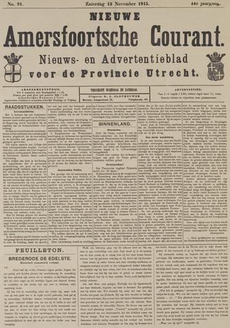 Nieuwe Amersfoortsche Courant 1915-11-13