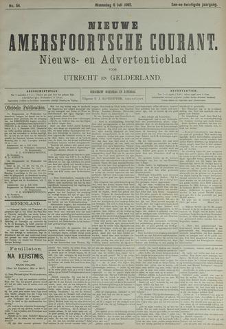 Nieuwe Amersfoortsche Courant 1892-07-06