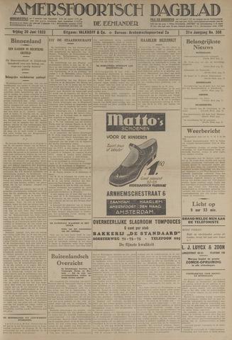 Amersfoortsch Dagblad / De Eemlander 1933-06-30