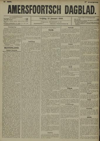 Amersfoortsch Dagblad 1909-01-22