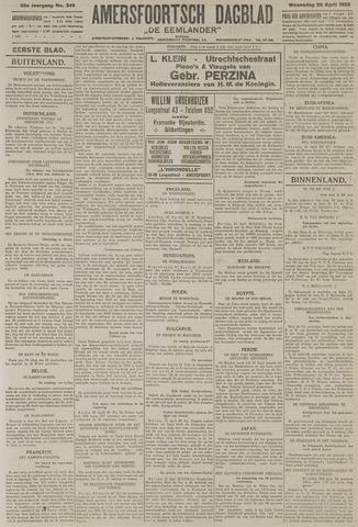 Amersfoortsch Dagblad / De Eemlander 1925-04-22