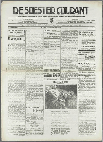 Soester Courant 1938-12-23