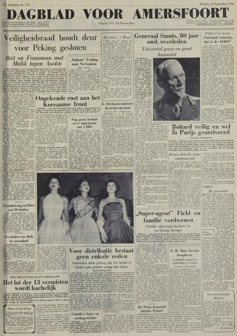 Dagblad voor Amersfoort 1950-09-12