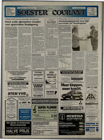 Soester Courant 1991-02-27