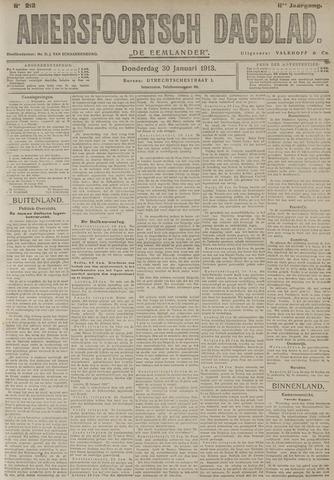 Amersfoortsch Dagblad / De Eemlander 1913-01-30