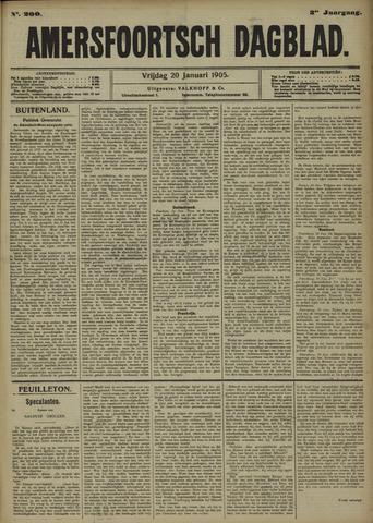 Amersfoortsch Dagblad 1905-01-20