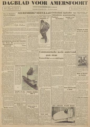 Dagblad voor Amersfoort 1946-09-26