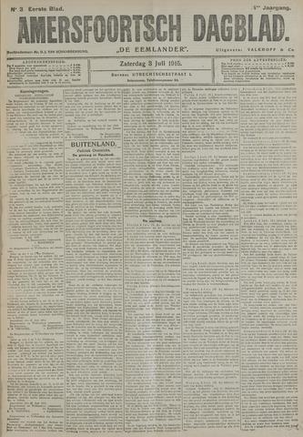Amersfoortsch Dagblad / De Eemlander 1915-07-03