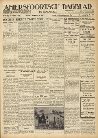Amersfoortsch Dagblad / De Eemlander 1935-10-31