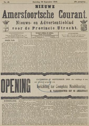 Nieuwe Amersfoortsche Courant 1919-09-20