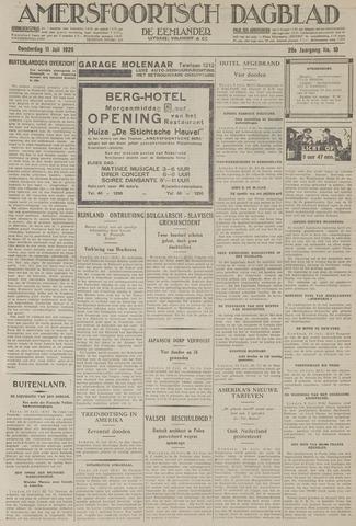 Amersfoortsch Dagblad / De Eemlander 1929-07-11