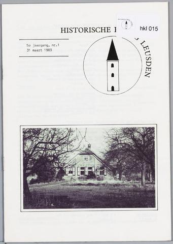 Historische Kring Leusden 1989