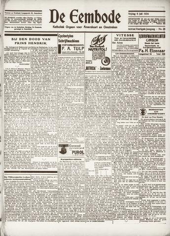 De Eembode 1934-07-06