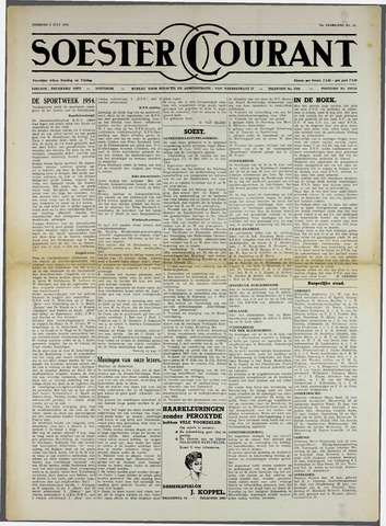 Soester Courant 1954-07-06