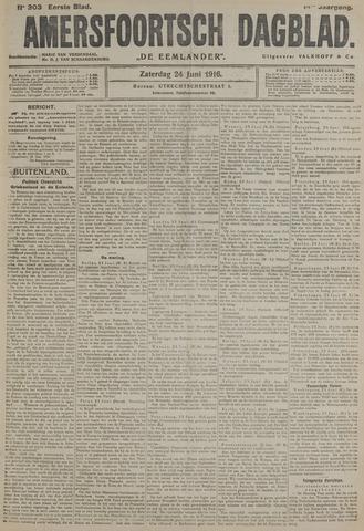 Amersfoortsch Dagblad / De Eemlander 1916-06-24