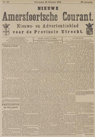 Nieuwe Amersfoortsche Courant 1913-02-26
