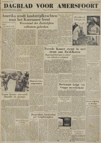 Dagblad voor Amersfoort 1950-07-01