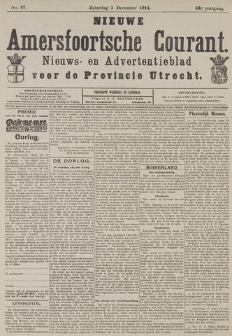 Nieuwe Amersfoortsche Courant 1914-12-05