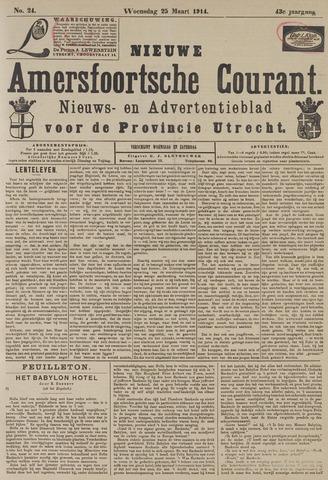 Nieuwe Amersfoortsche Courant 1914-03-25