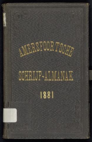 Adresboeken Amersfoort 1881