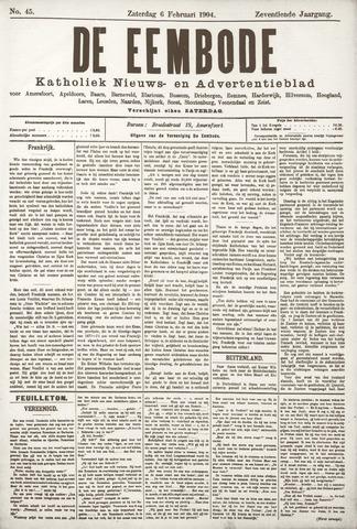 De Eembode 1904-02-06
