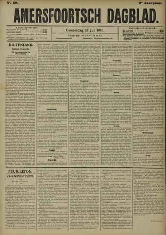 Amersfoortsch Dagblad 1910-07-28