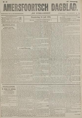 Amersfoortsch Dagblad / De Eemlander 1913-07-24