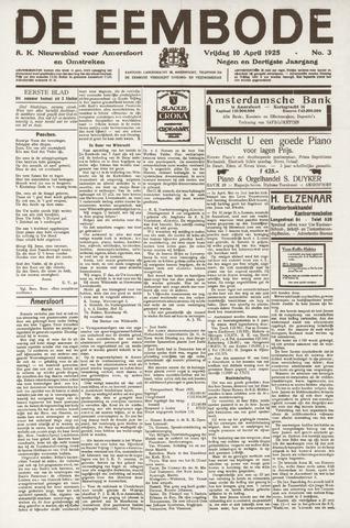 De Eembode 1925-04-10