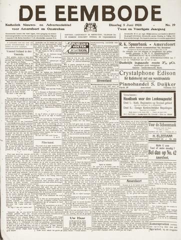 De Eembode 1928-06-05