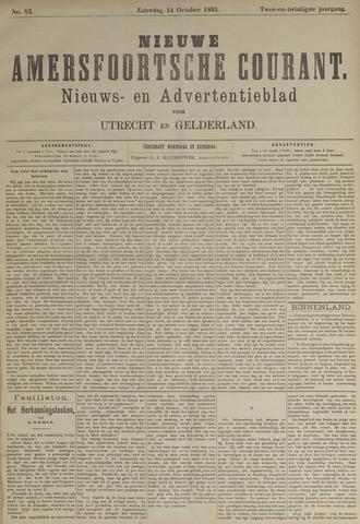 Nieuwe Amersfoortsche Courant 1893-10-14