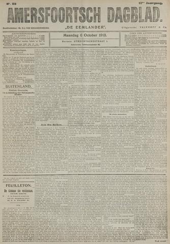 Amersfoortsch Dagblad / De Eemlander 1913-10-06