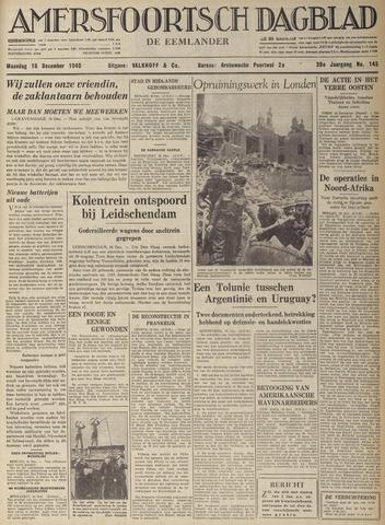 Amersfoortsch Dagblad / De Eemlander 1940-12-16