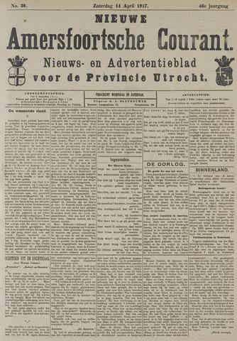Nieuwe Amersfoortsche Courant 1917-04-14