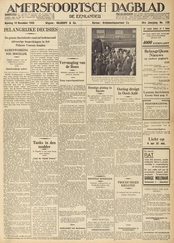 Amersfoortsch Dagblad / De Eemlander 1935-11-18