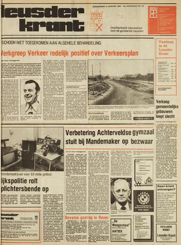 Leusder Krant 1982-01-14