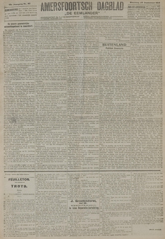 Amersfoortsch Dagblad / De Eemlander 1919-09-29