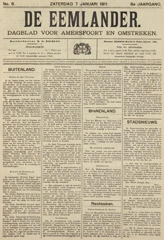 De Eemlander 1911-01-07