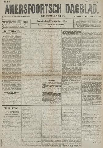 Amersfoortsch Dagblad / De Eemlander 1914-08-14