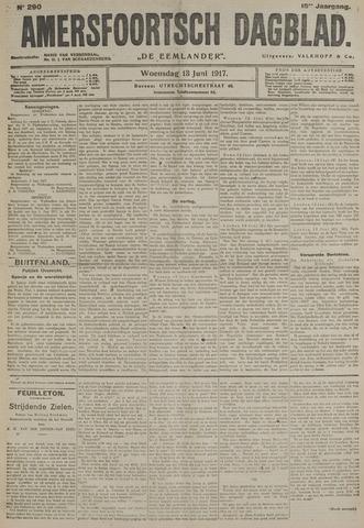 Amersfoortsch Dagblad / De Eemlander 1917-06-13