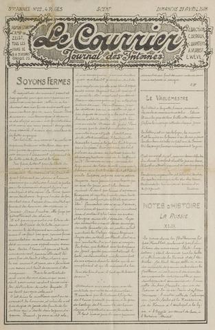 Le Courrier 1918-04-21