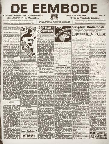 De Eembode 1928-06-22